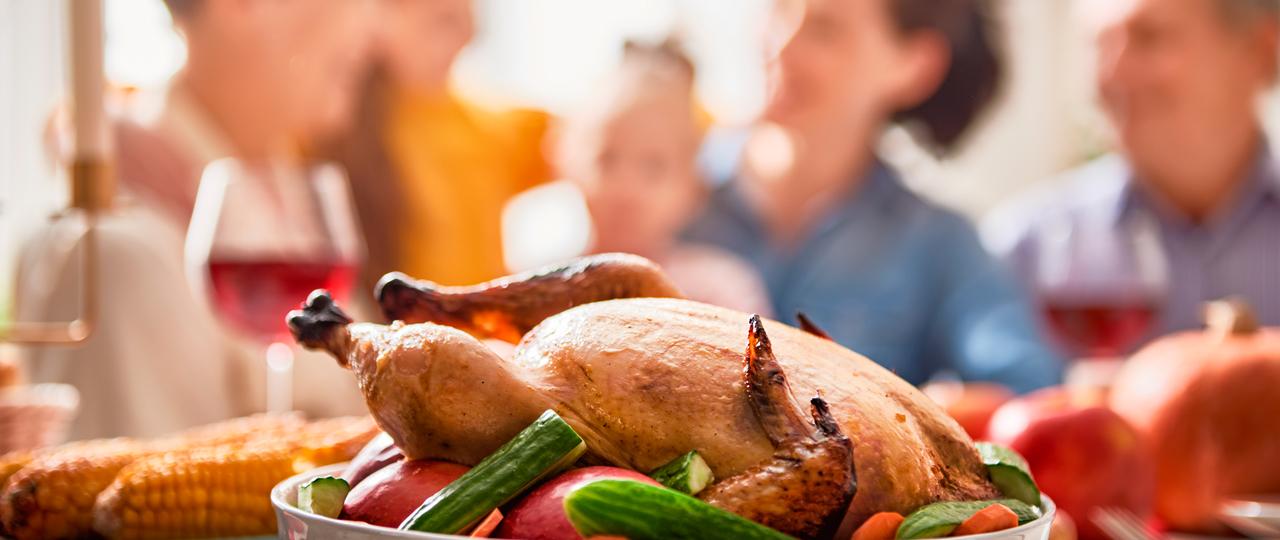Turkey Dinner Happy