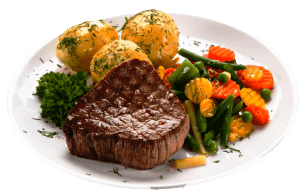 Beef Steak Vegetables