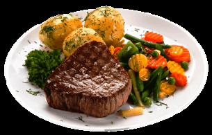 Beef Steak Vegetables