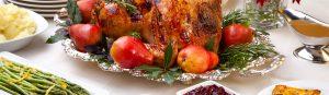 Turkey Vegetable Apple Gravy Dinner